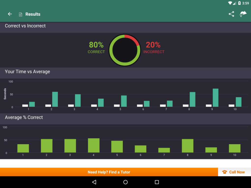 High School Math: Practice Tests And Flashcards For Android