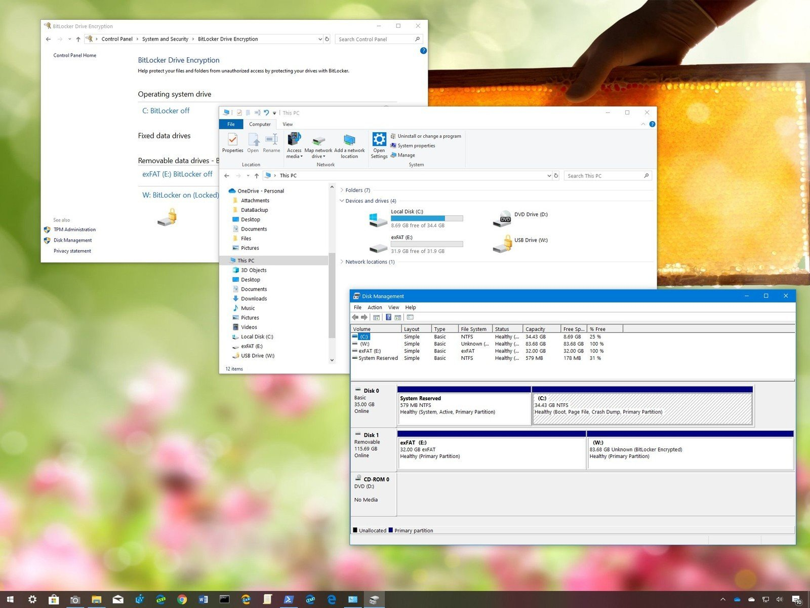 How To Set Up Multiple Partitions On A Usb Flash Drive On