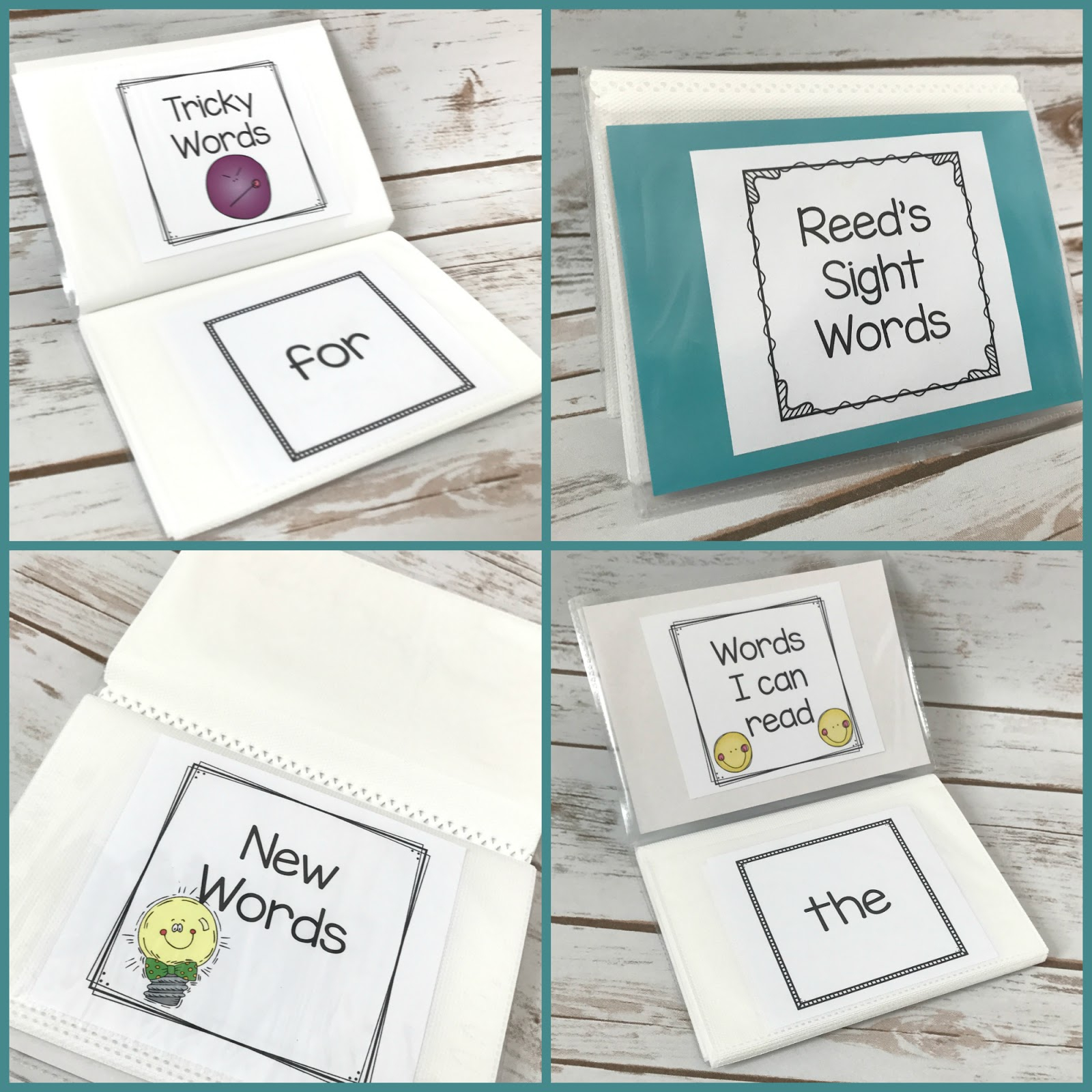 How To Store And Organize Sight Word Flash Cards