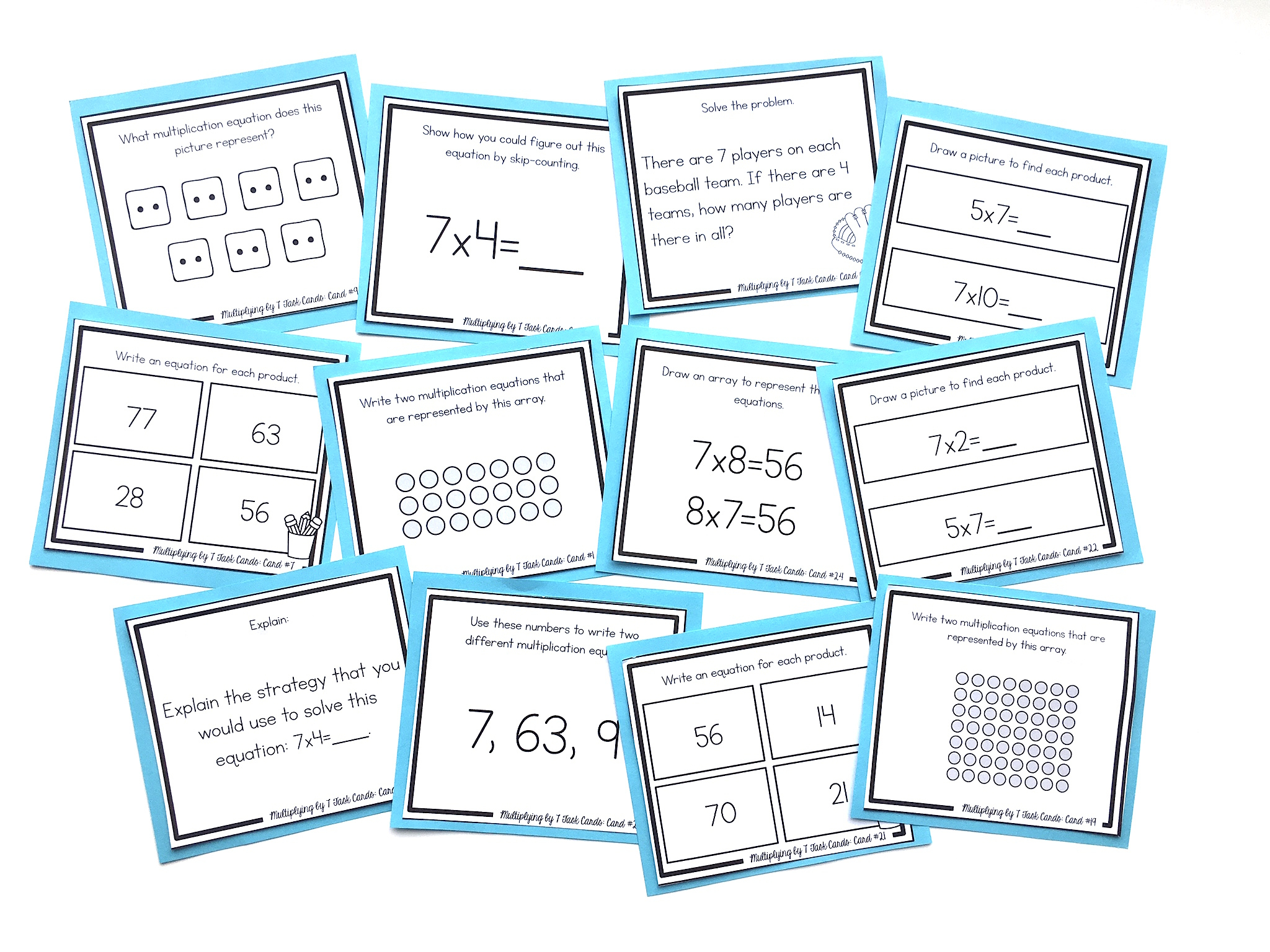 How To Teach The 6's, 7's, And 8's Multiplication Facts