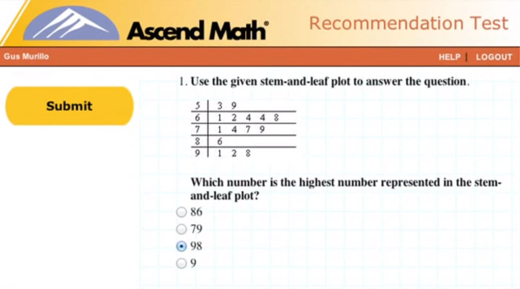 Individualized Study Plans   Ascend Math