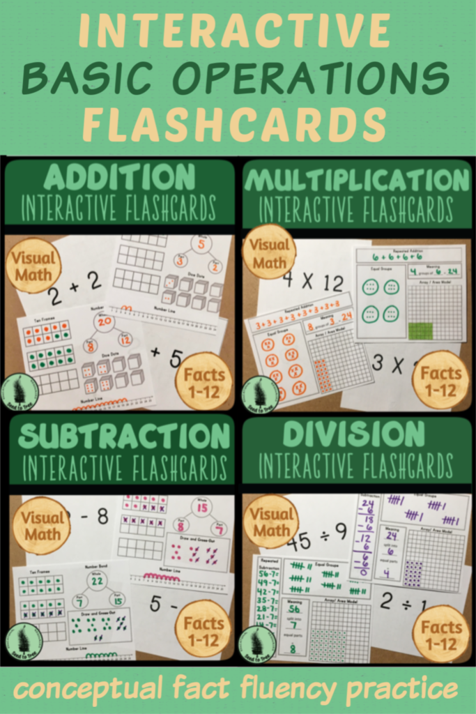 Interactive Math Fact Flashcards In 2020 | Flashcards