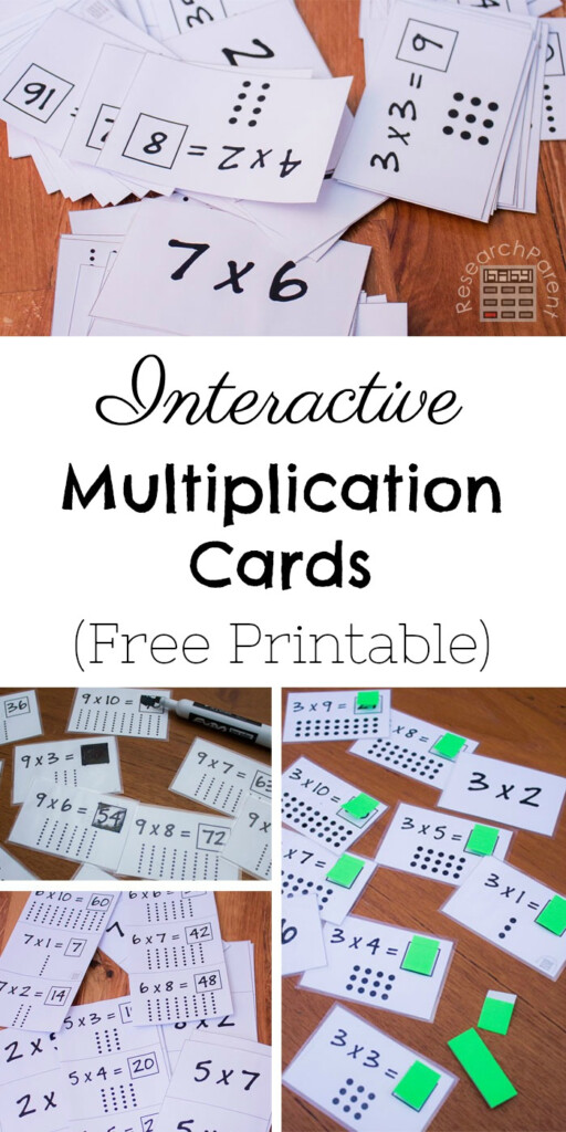 Interactive Multiplication Cards   Researchparent
