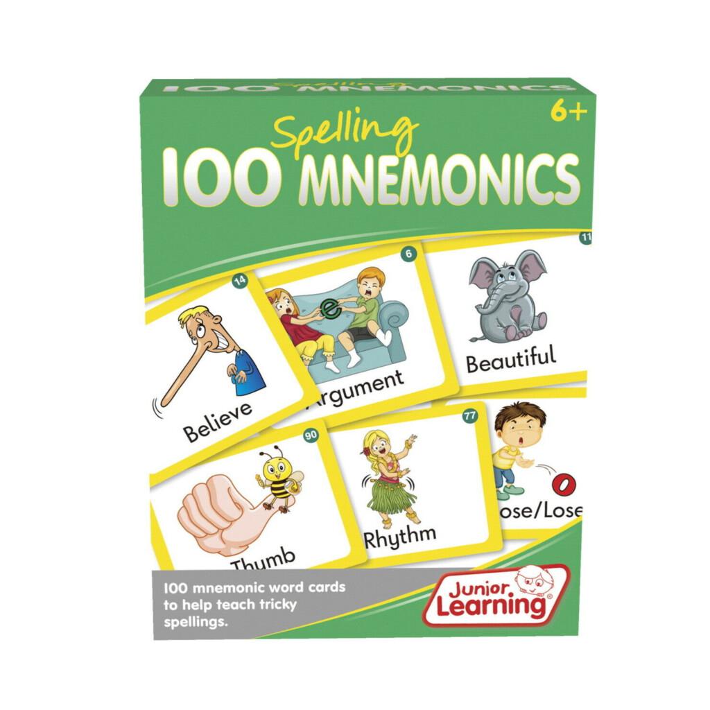 Junior Learning 100 Spelling Mnemonics