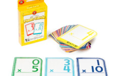 Learning Can Be Fun Multiplication 0-12 Flash Cards