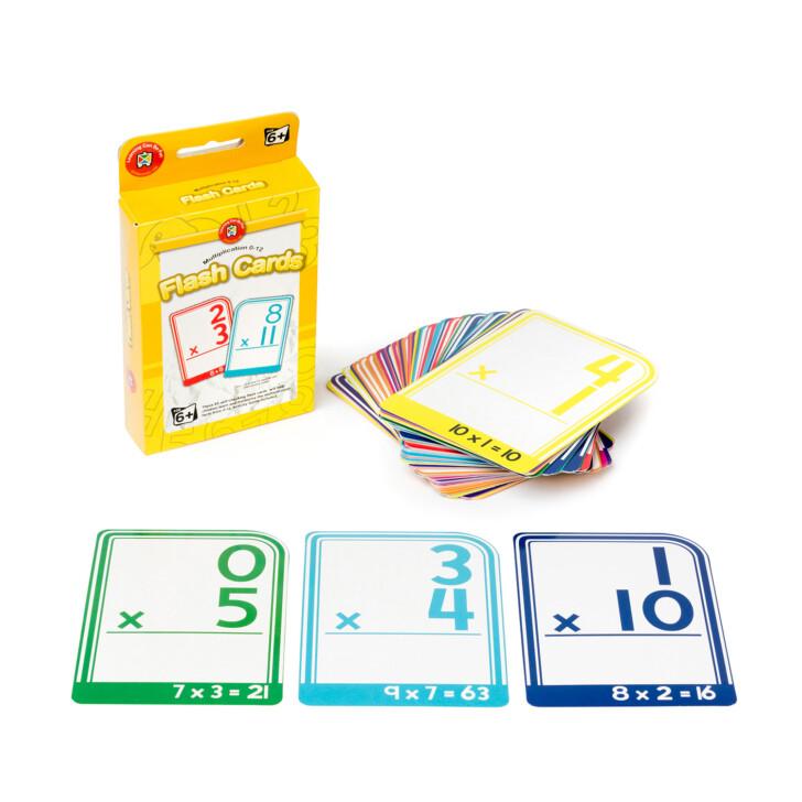 Crayola Multiplication Flash Cards