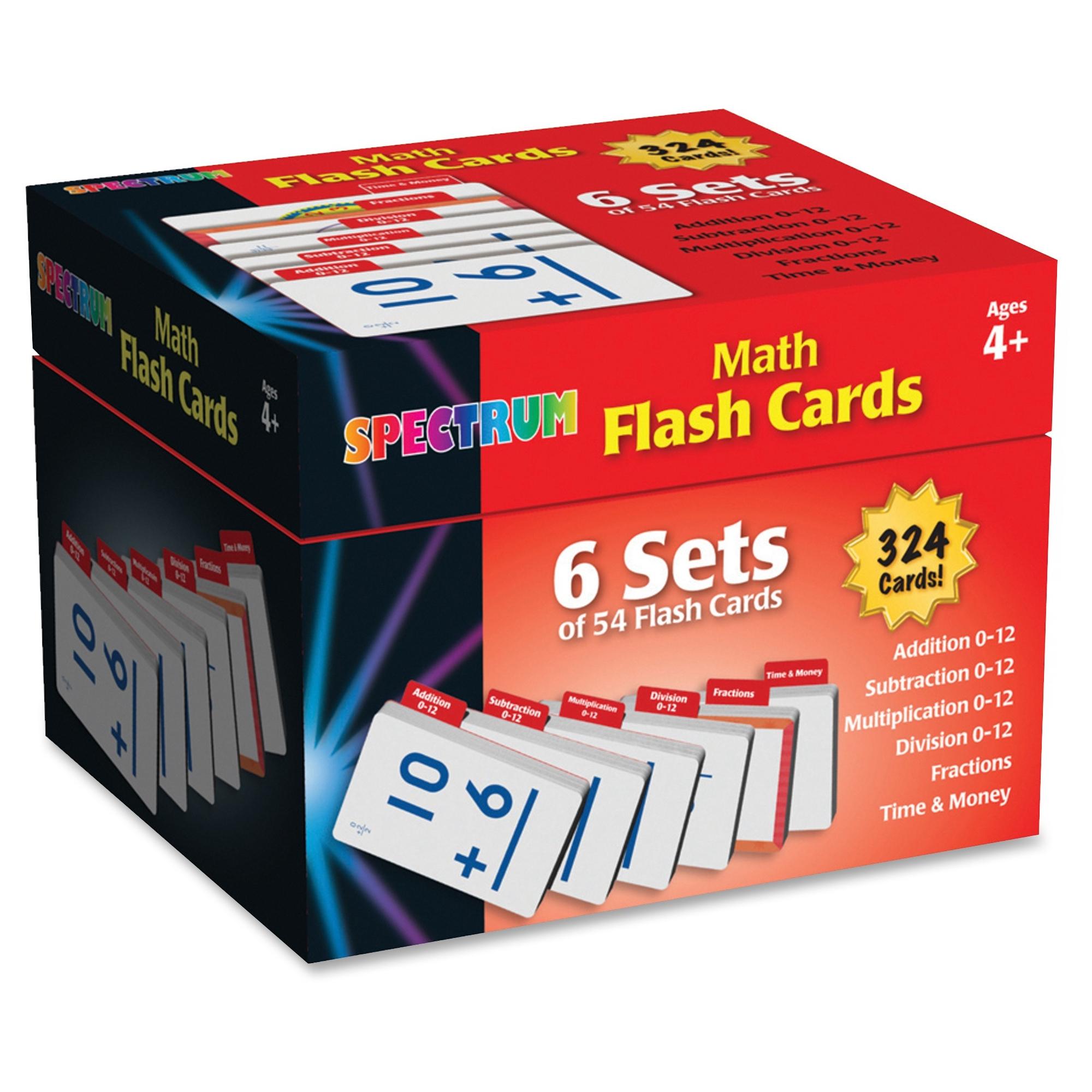 Math Flash Card - Walmart