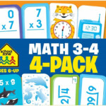 Math Flash Cards   Multiplication, Division, Time, And Money