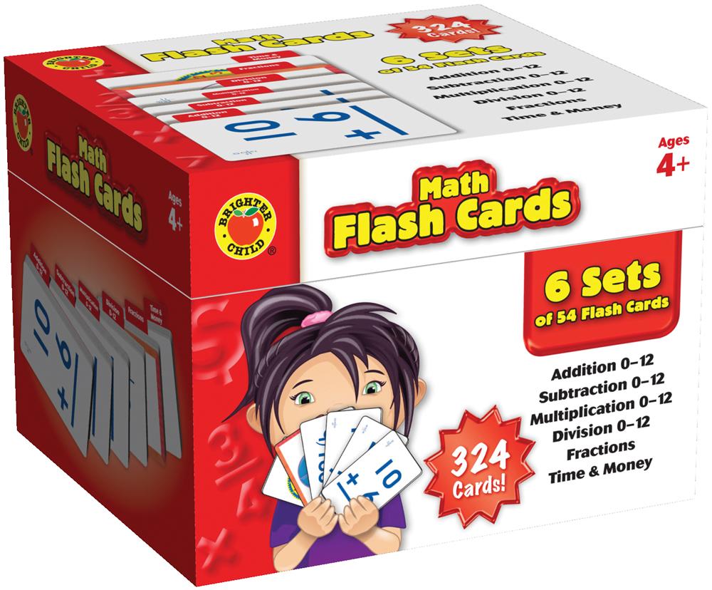 Math Flash Cards - Walmart