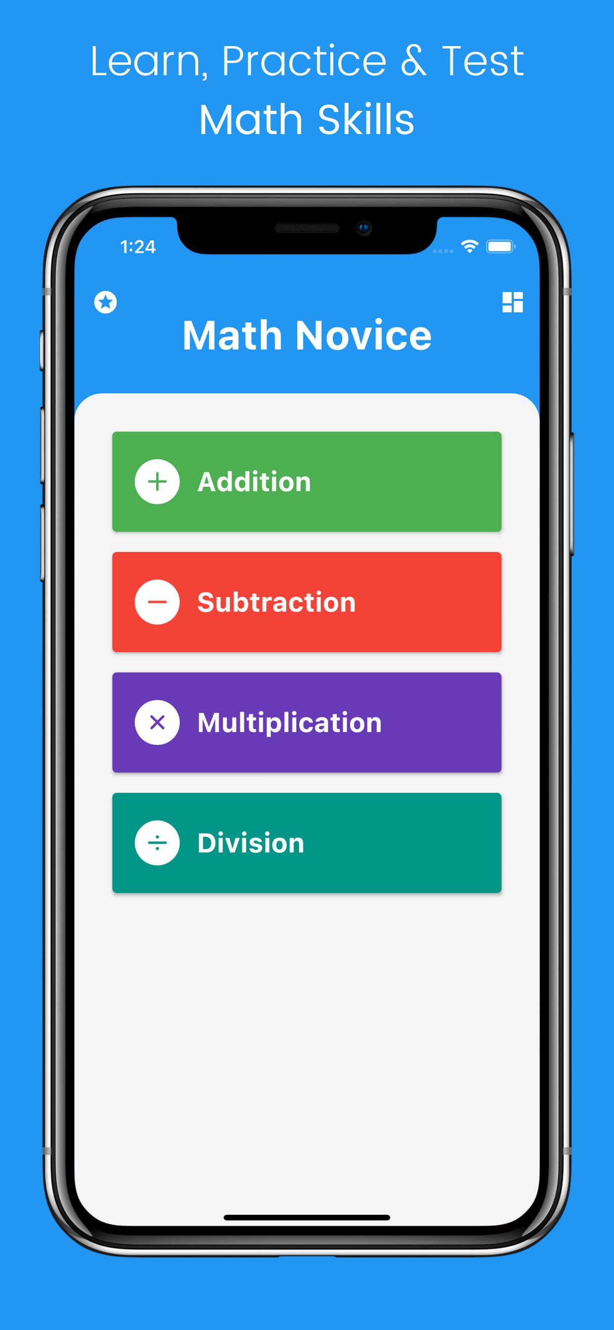 Math Novice App – Ios & Android Math Educational App For