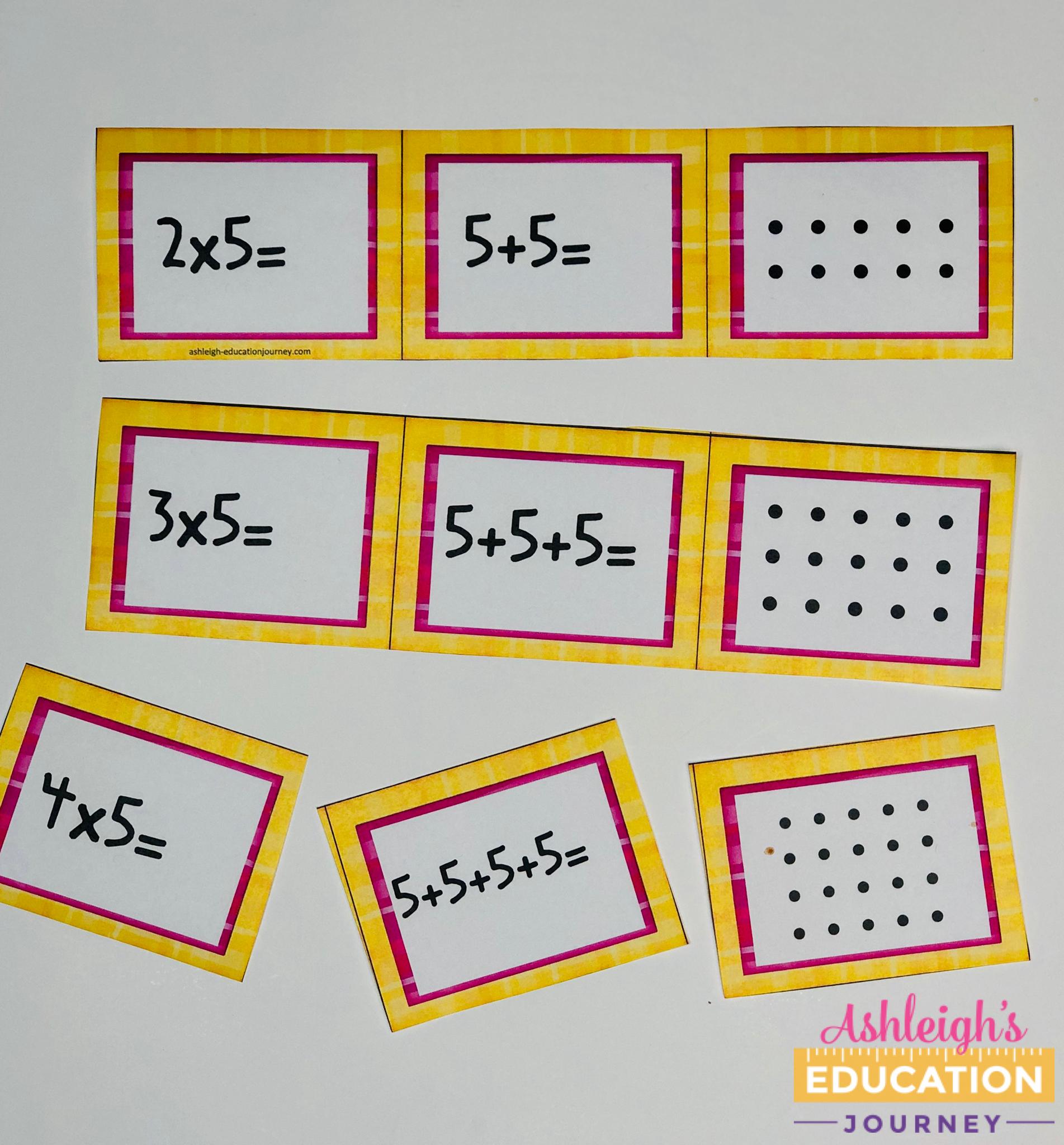 Memorizing Multiplication Facts - Ashleigh's Education Journey