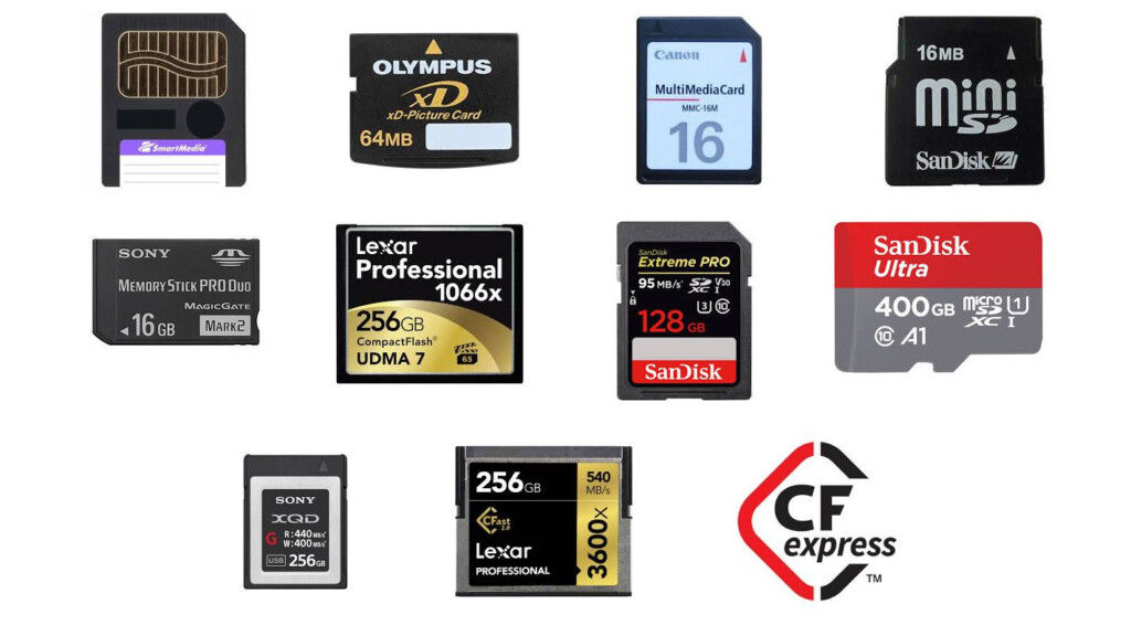 Memory Cards Past, Present And Future   What You Need To