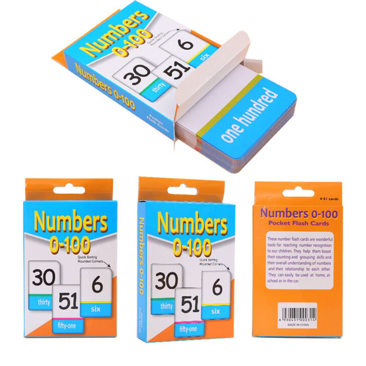 Multiplication Flash Cards 0-100