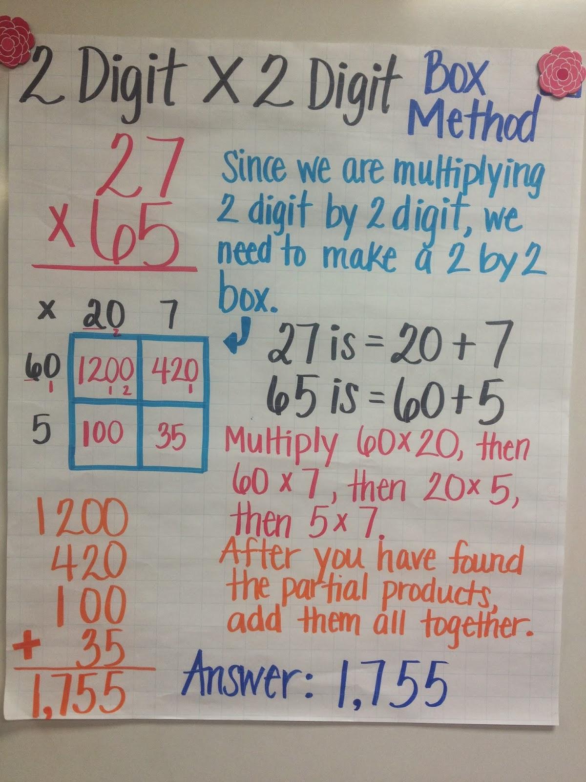 Ms. Cao's 4Th Grade Math: Multiple Digit Multiplication