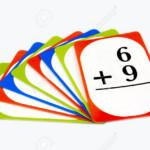 Multi Colored Math Flash Cards