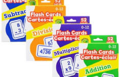 Multi-Pack Math Flashcards – Addition, Subtraction, Multiplication, Division