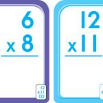 Multiplication 0 12 Flash Cards   School Zone Publishing   Bens