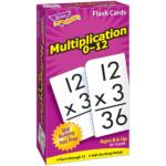 Multiplication 0 12 Skill Drill Flash Cards