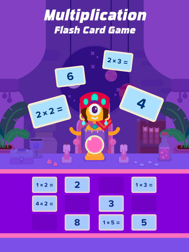Multiplication Flash Cards App