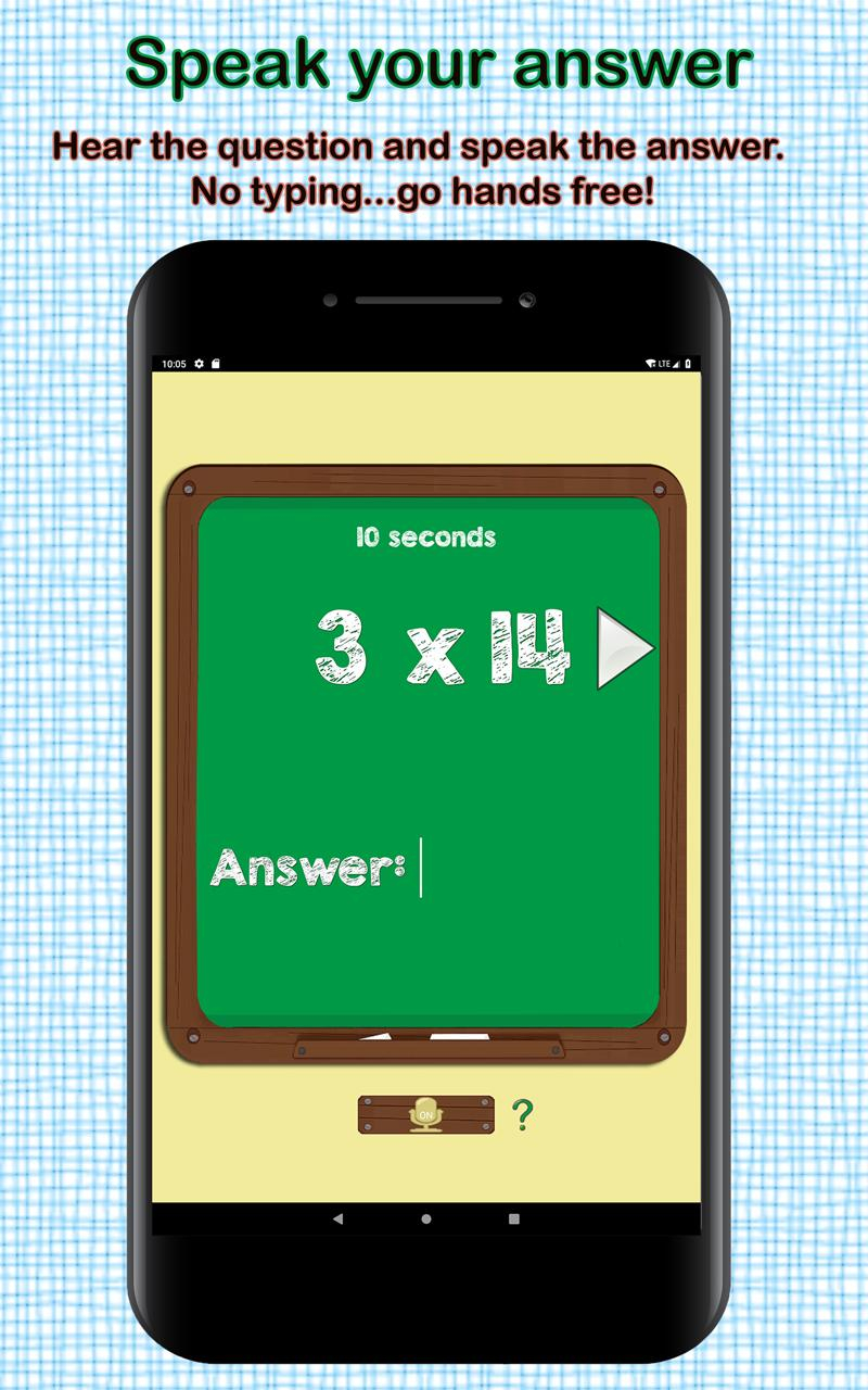 Multiplication Flash Cards For Android - Apk Download