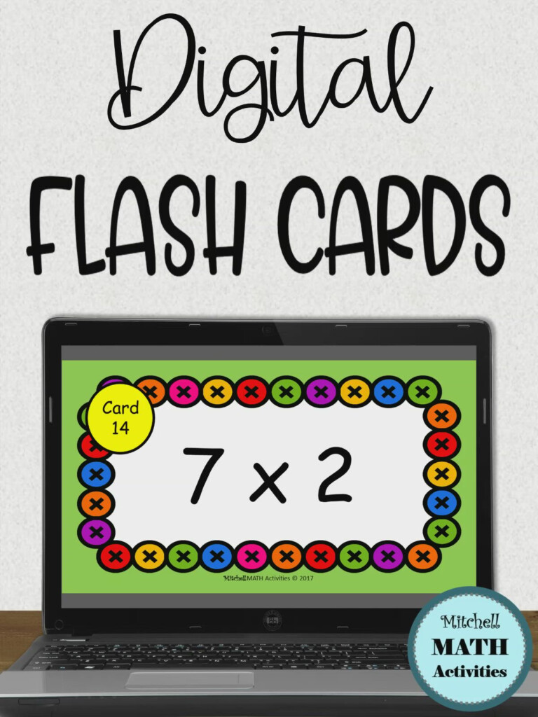 Multiplication Flash Cards For Devices [Video] In 2020 | Flashcards,  Multiplication Flashcards, Math Time