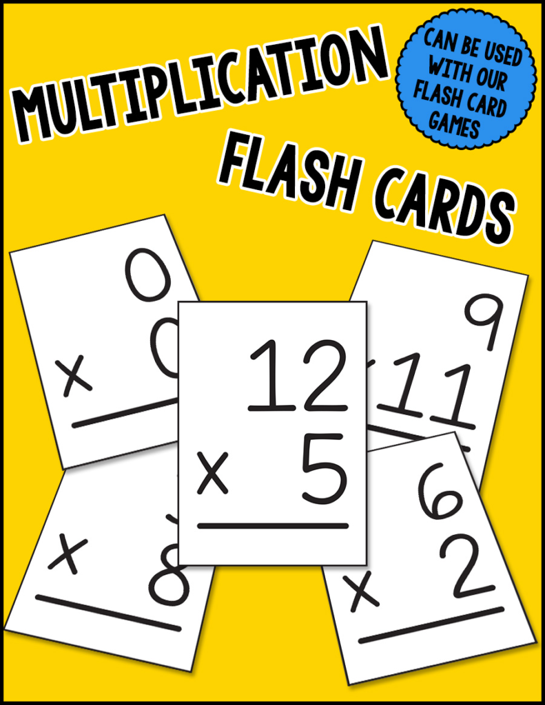 Multiplication Flash Cards From Warm Hearts Publishing In