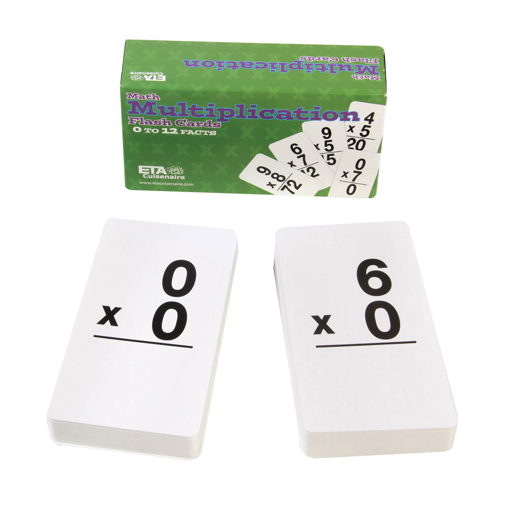 Multiplication Flashcards, 169 Cards
