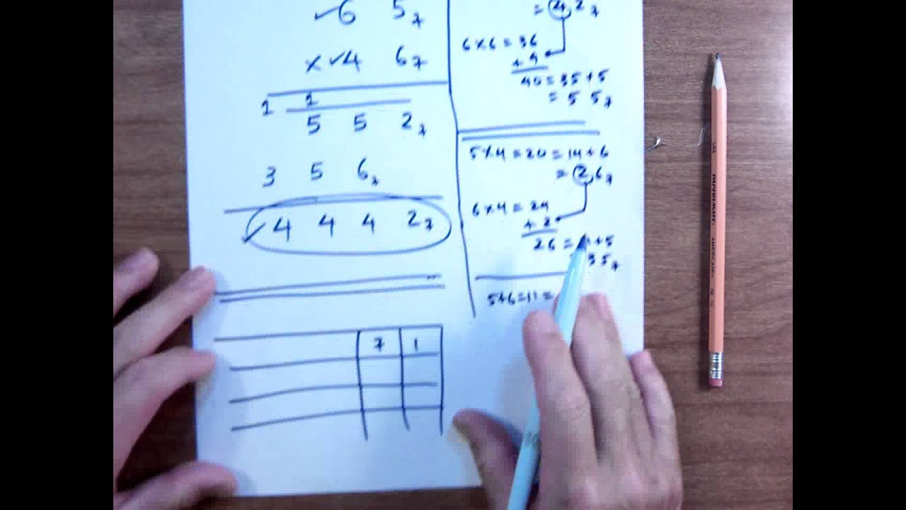 Multiplication In Base 7
