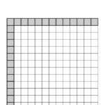 Multiplication Table Chart Blank