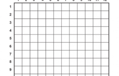 Multiplication Table Chart Worksheet For Kids [Free Printable]
