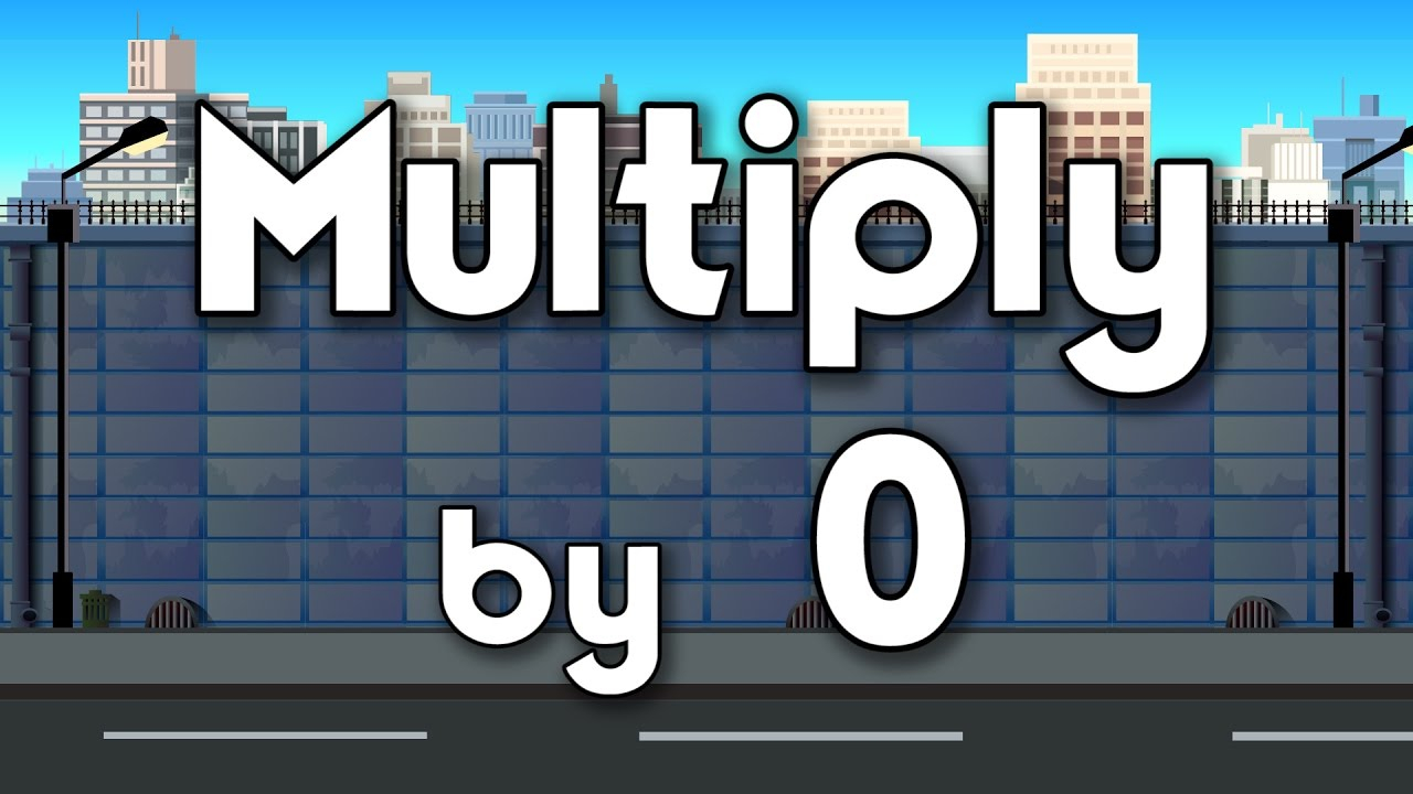 Multiply0 | Learn Multiplication | Multiplymusic | Jack Hartmann