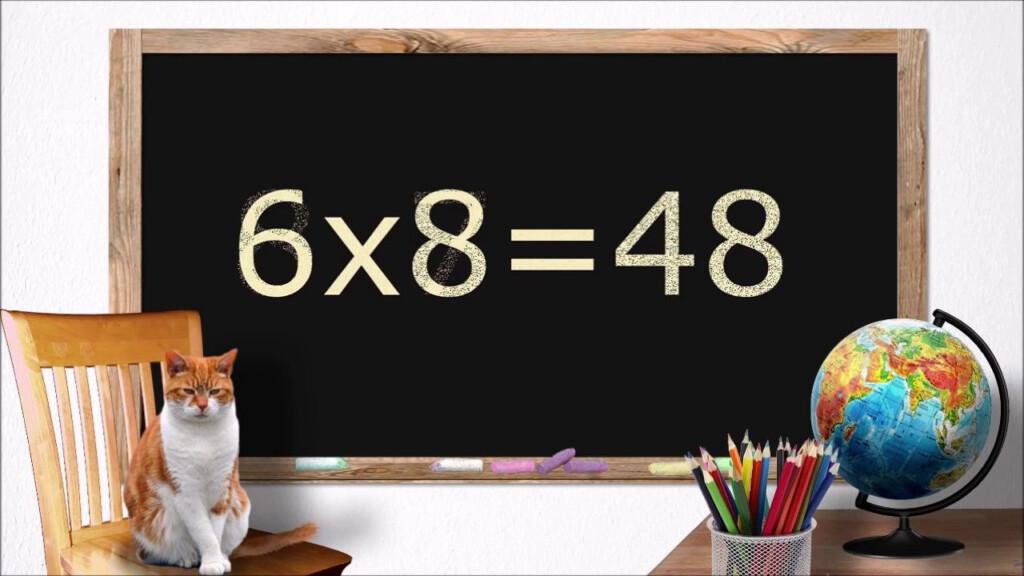 Multiplying8. 2Nd & 3Rd Grade Math. Flashcards. | Math