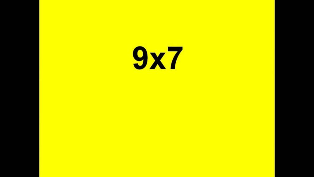 Nines Multiplication Flashcard Videos   Youtube