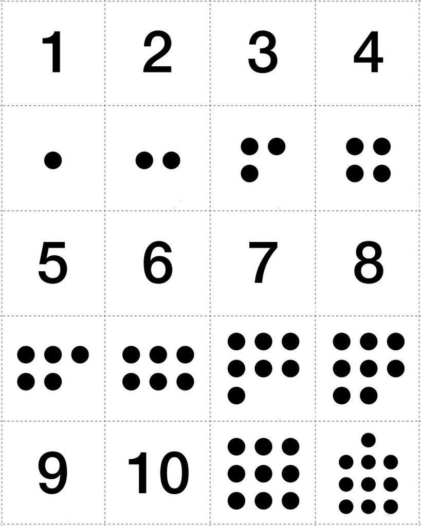 Numbers 1-10 Preschool Printables | Numbers Preschool