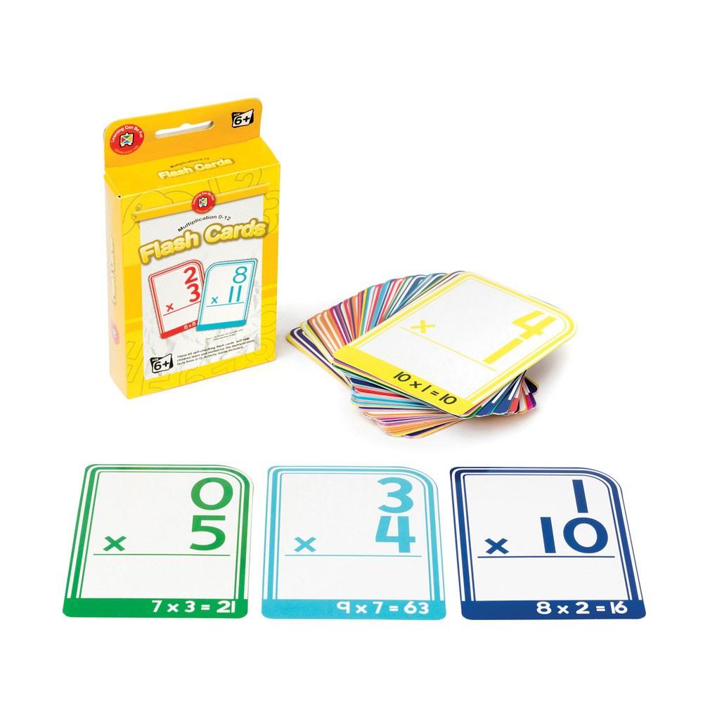 Numeracy Flash Cards - Multiplication