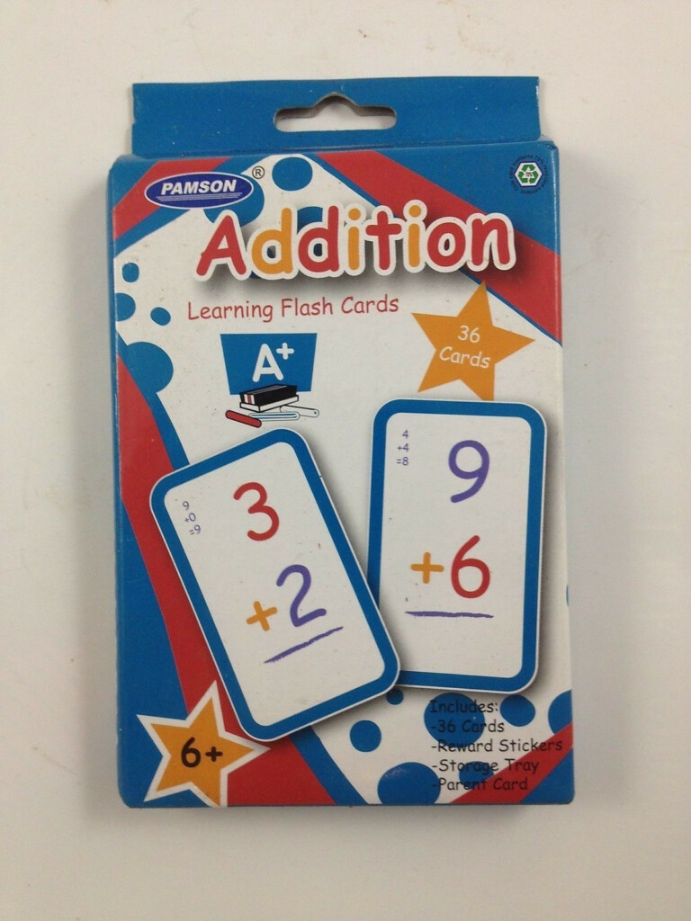 Pamson Multiplication Learning Flash Cards