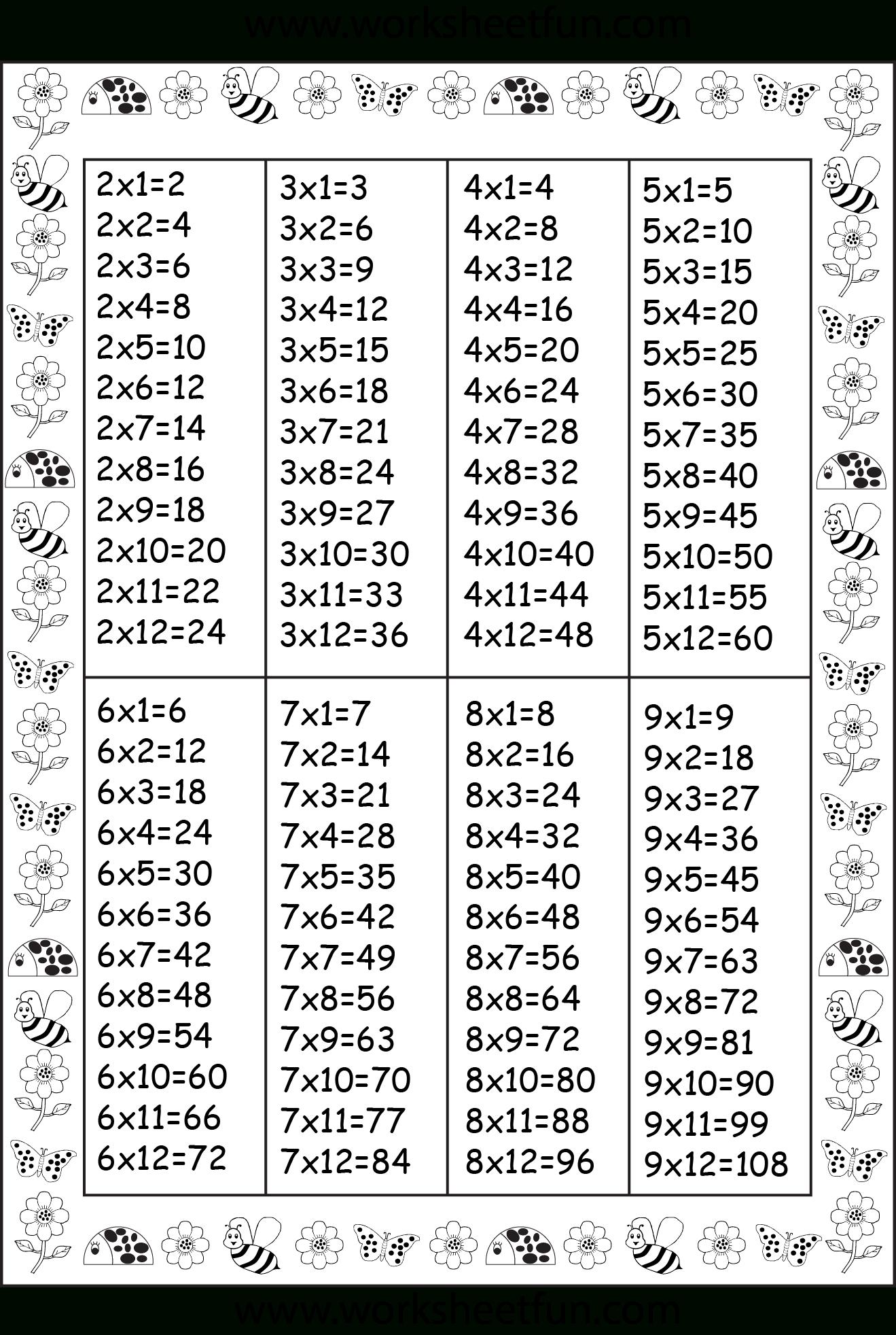 Pinwww.worksheetfun  On Printable Worksheets | Times