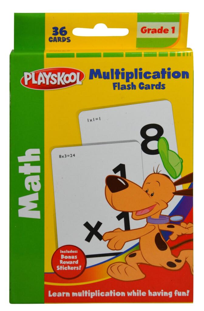 Playskool Multiplication Flash Cards