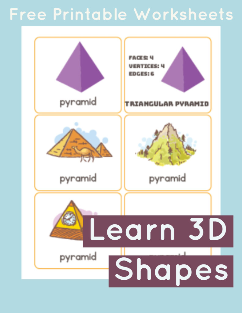 Pyramid Flashcards | Pyramids, Flashcards, Shapes Flashcards