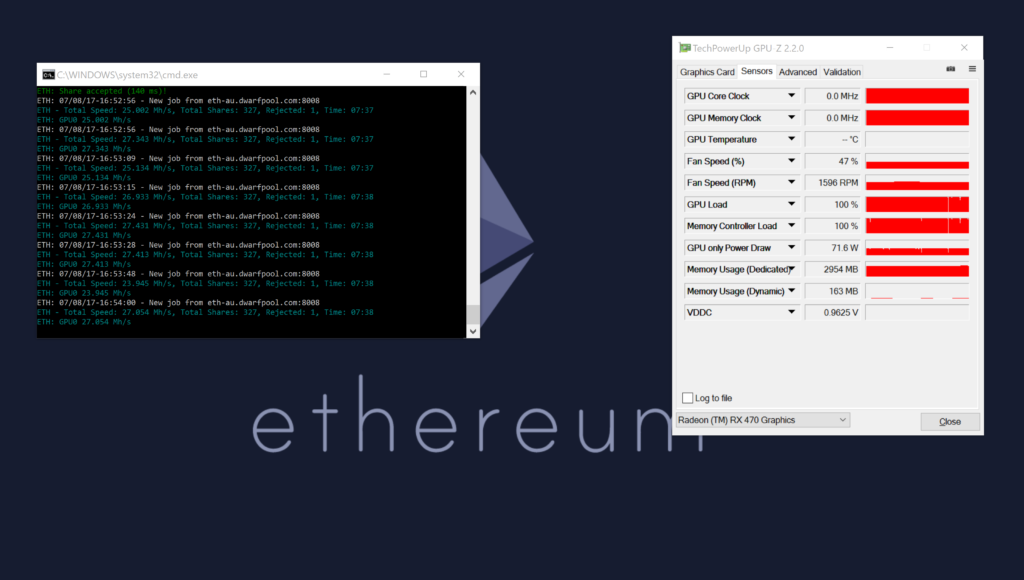 Rx 470: Driver Issues After Flashing New Bios — Ethereum
