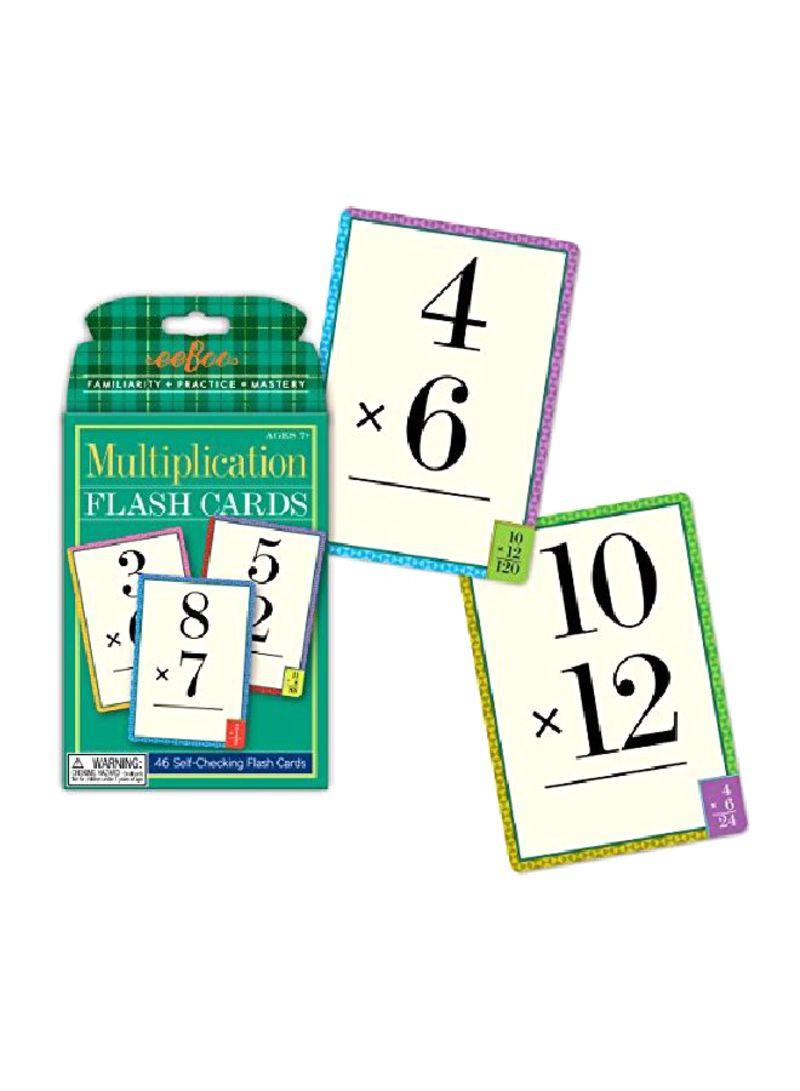 Shop Eeboo Multiplication Flash Card Online In Dubai, Abu