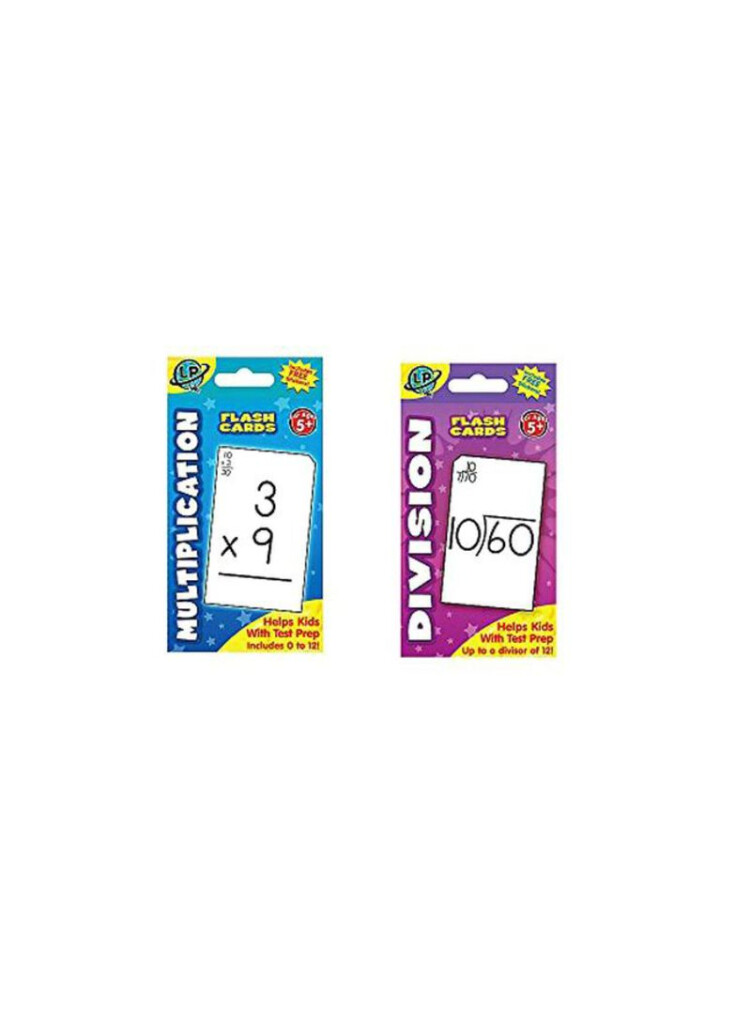 Shop Just4Fun Multiplication And Division Flash Card Online