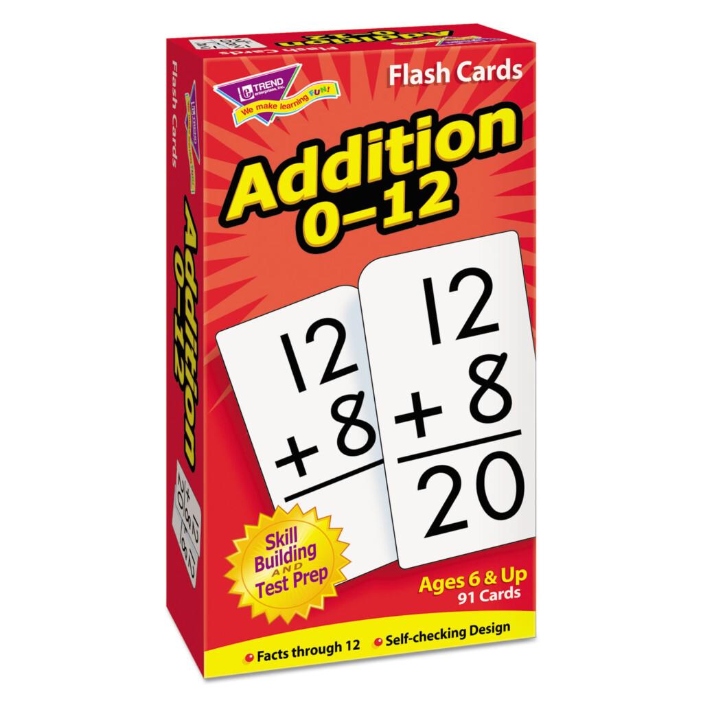 Skill Drill Flash Cards, 3 X 6, Addition   Elite Office