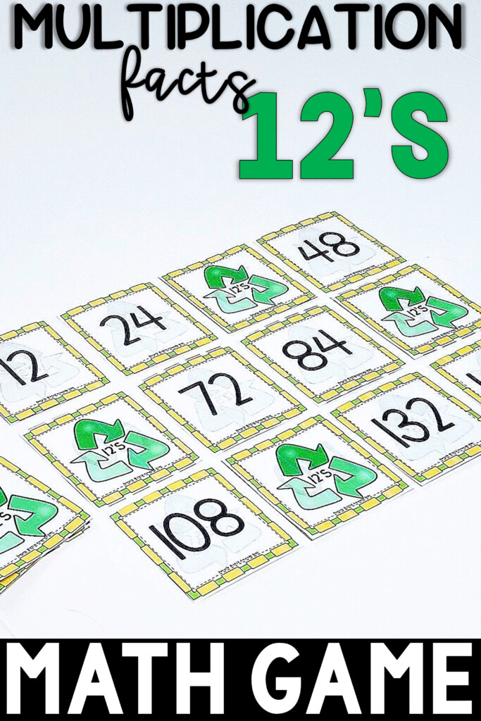 Skip Counting Game | Multiplication Facts Game | 12S | Math