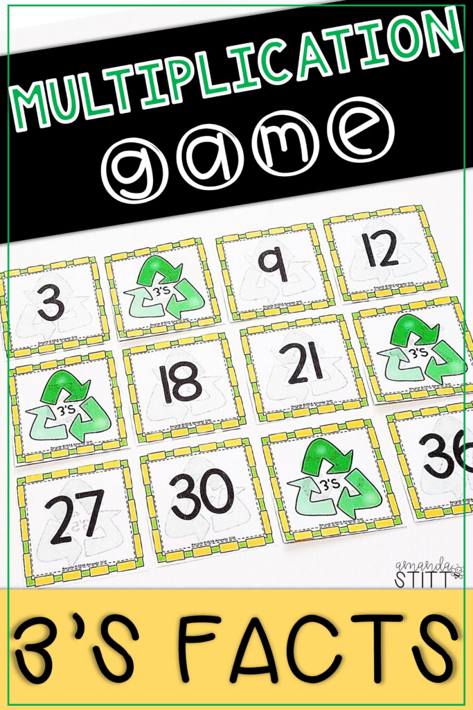Skip Counting Game | Multiplication Facts Game | 3S