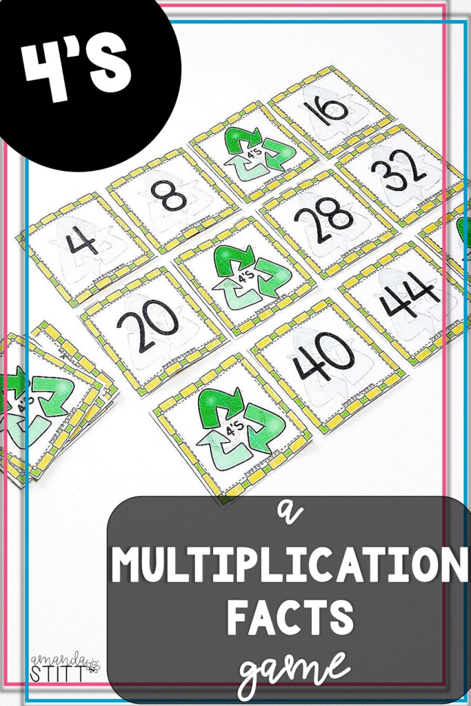 Skip Counting Game   Multiplication Facts Game   4S