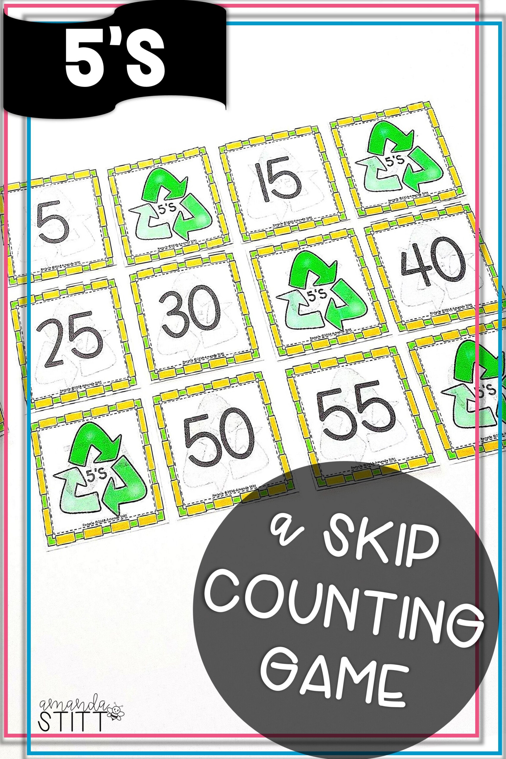 Skip Counting Game | Multiplication Facts Game | 5S