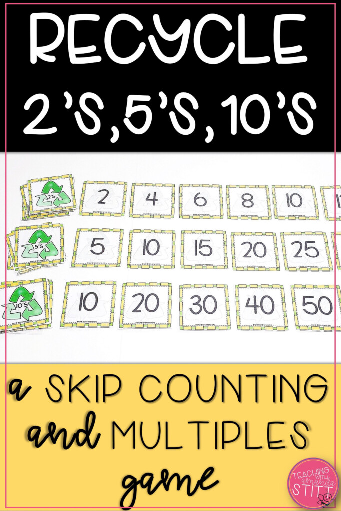 Skip Counting2S 5S And 10S Games | Multiplication Facts