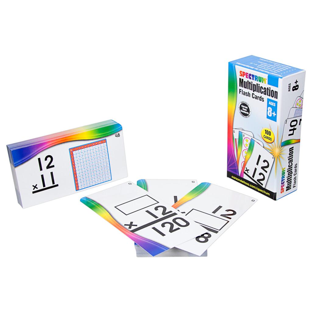 Spectrum Flash Cards: Multiplication Flash Cards (Other)