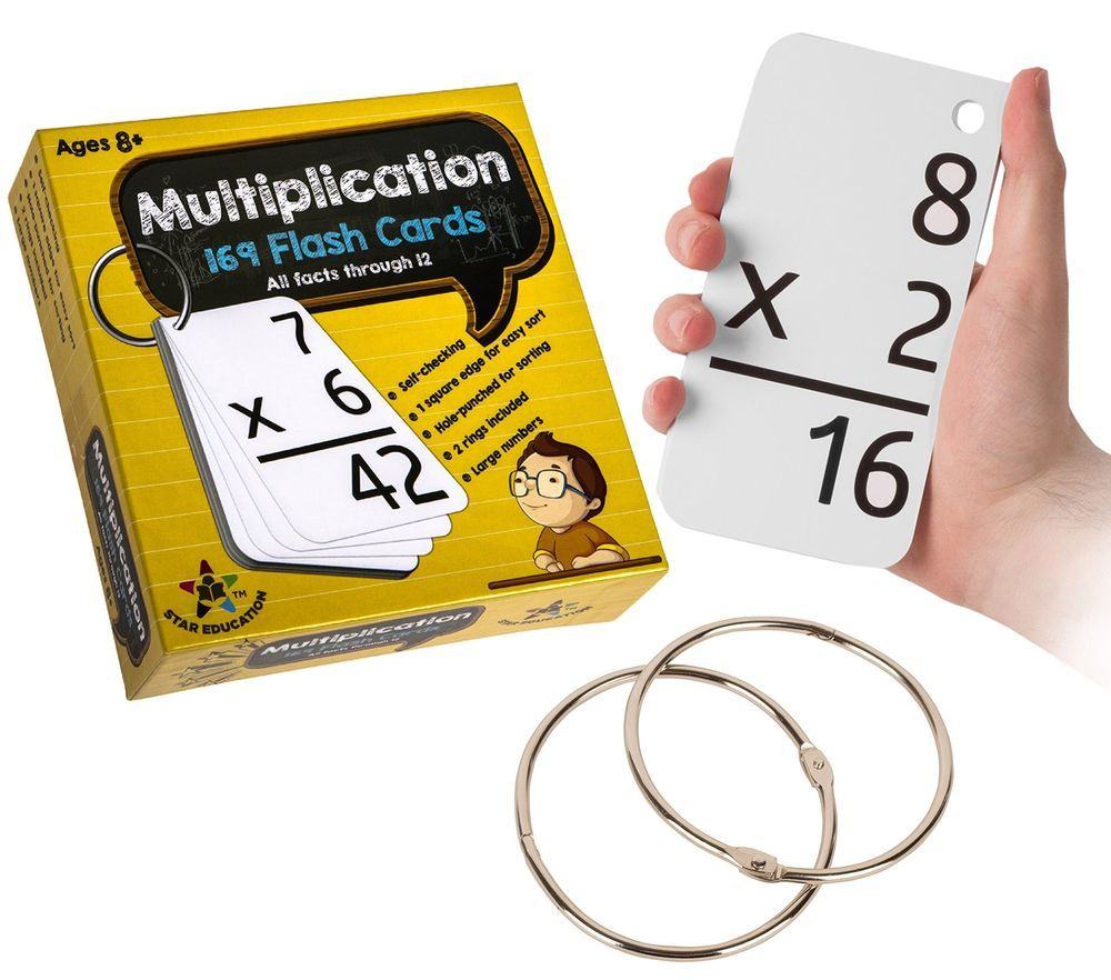 Star Education Multiplication Flash Cards, 0-12 (All Facts